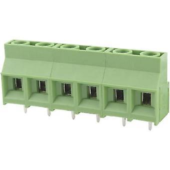 Degson DG950-9.5-03P-14-00AH-1 Schroefklem 5,26 mm² Aantal pinnen 3 Groen 1 st(en)