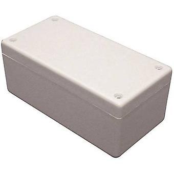 Hammond Electronics 1594EGY Universal gehäutet 167 x 107 x 65 Acrylonitrile butadiene styrene grau-white (RAL 7035) 1 PC (s)