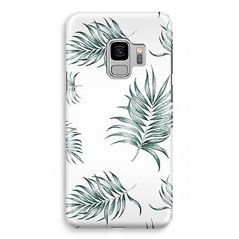 Samsung Galaxy S9 Full Print Case (Glossy) - Simple leaves