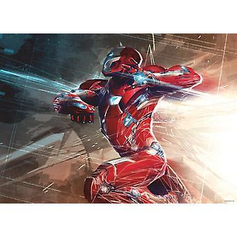 Iron Man grote Posters versieren Kids 160x115cm