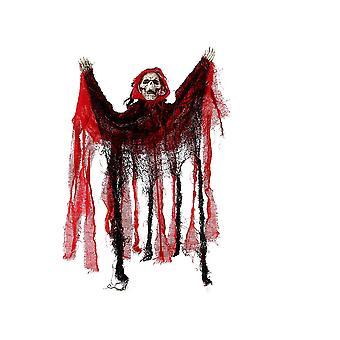 Halloween und Horror Deko Skelett