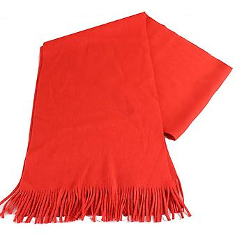 Bassin and Brown Gatting Plain Scarf - Orange