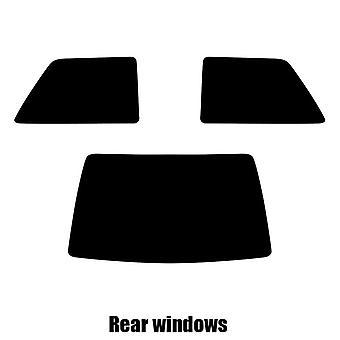 Pre cut window tint - Renault Super 5 3-door Hatchback - 1984 to 1996 - Rear windows