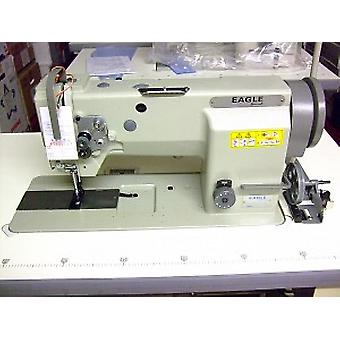 Eagle GC20606-1 Walking Foot Drop-in Bobbin Lockstitch Industrielle Nähmaschine für schweres Leder