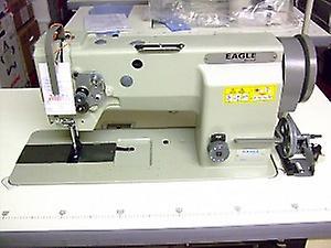 Eagle GC20606-1 Walking Foot Drop-in Bobbin Lockstitch Industrial Sewing Machine pour cuir lourd