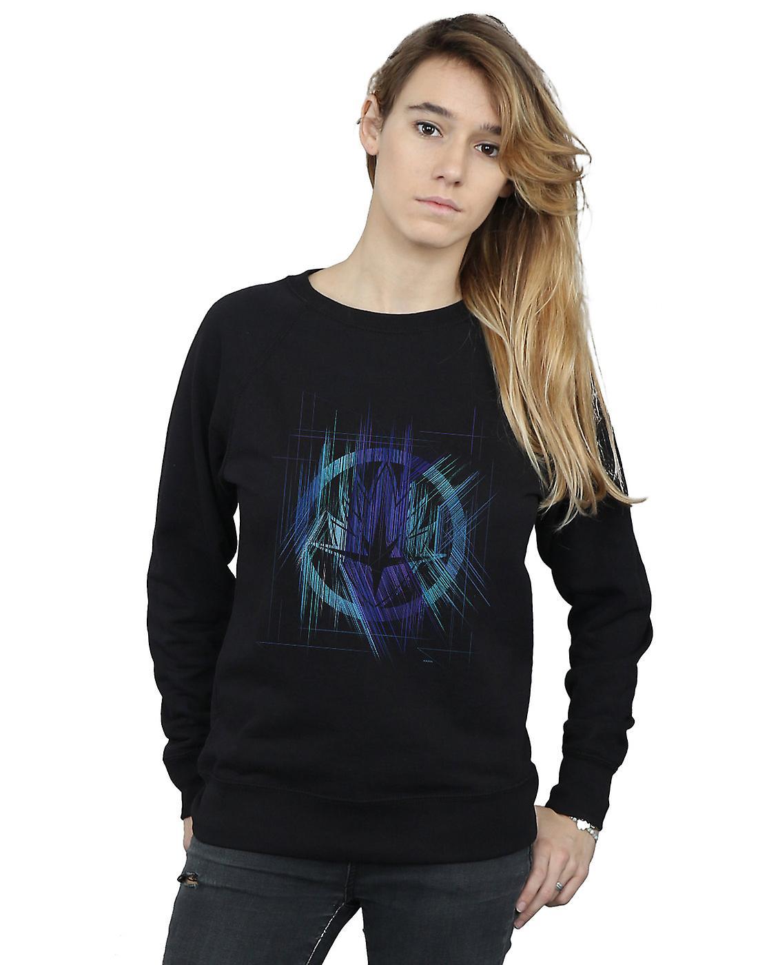 Marvel Women's Avengers Infinity War Guardian Lines Sweatshirt