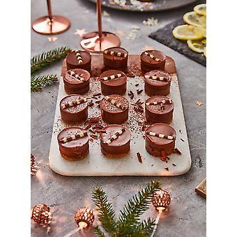 Prestigio congelato Mini cheesecake al cioccolato belgi