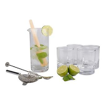 Mojito set glass and accessories.