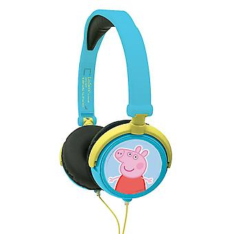LEXIBOOK Peppa Pig Stereo Headphones (Model No. HP015PP)