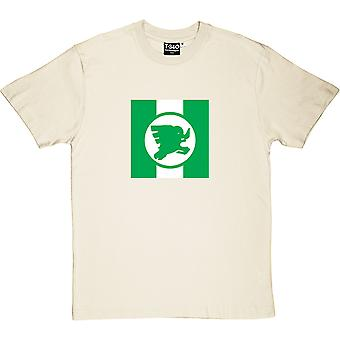 T-shirt Nigeria Airways Natural Men-apos;s