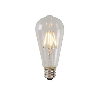 Lucide Bulb LED ST64 Filament E27/5W 500LM 2700K Clear