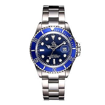 Reginald Mens Homage Watch Silver Blue Man Smart Watches Designer Gift Present UK