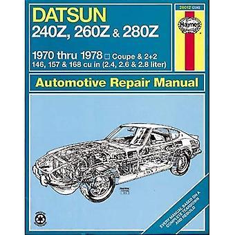 Datsun 240Z/260Z atelier manuel (manuels de service & réparation des é.-u.)