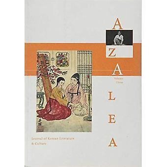 Azalea 3: Journal of Korean Literature and Culture