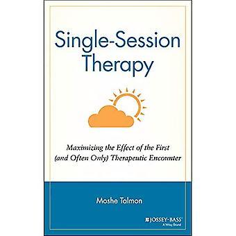 Einzelsitzung Therapie: Maximierung der Wirkung der erste (und oft einzige) therapeutische Begegnung