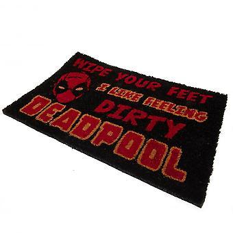 Deadpool Wipe Your Feet Doormat