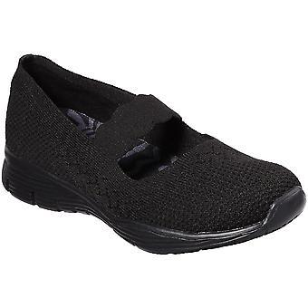 المرأة سكيتشرز السلطة سيجر الضارب المنسوجة الأحذية متماسكة