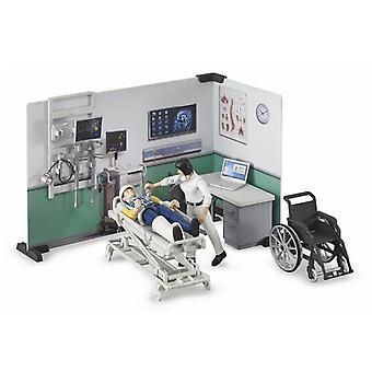 Bruder 62711 Bmonde hôpital avec 2 figurines et accessoires