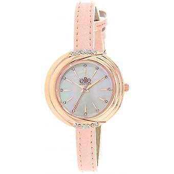 Elite E54962-806 - watch leather pink woman
