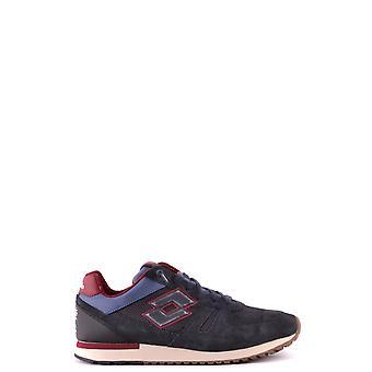 Lotto Ezbc139004 Men's Blue Fabric Sneakers