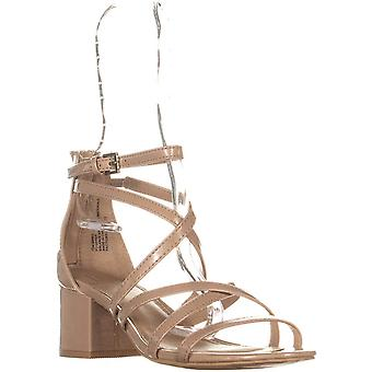 Material Girl Womens Minez Open Toe Special Occasion Strappy Sandals