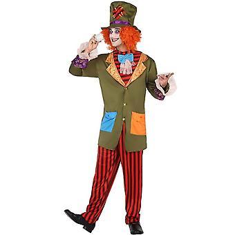 Männer Kostüme Männer Karneval Kostüm verrückt Hutr