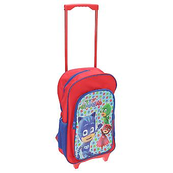 PJ Masks Childrens/Kids Travel Trolley Backpack