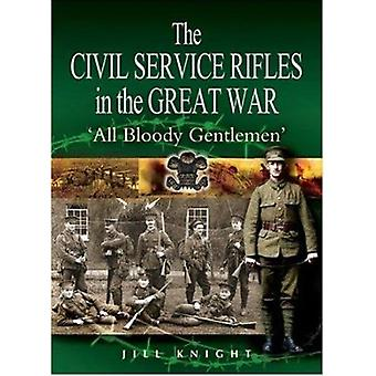 The Civil Service Rifles in the Great War by Jill Knight of Collingtr