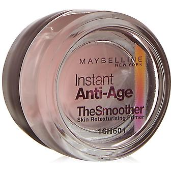 2x Maybelline Instant Anti-Age The Smoother Retexturising Skin Primer 7ml Sealed