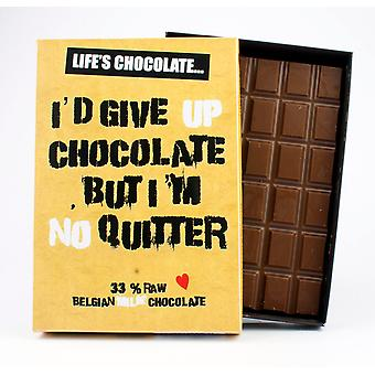 Funny Boxed Chocolate Quote Gift For Men Women Best Friend Greeting Card for Him or Her LC106