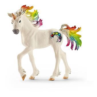 Schleich Bayala Regenbogen Einhorn Fohlen Pferd Spielzeug Figur (70525)