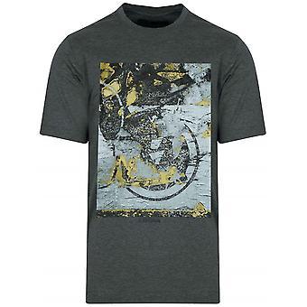 Z Zegna Dark Grey Graphic Logo T-Shirt