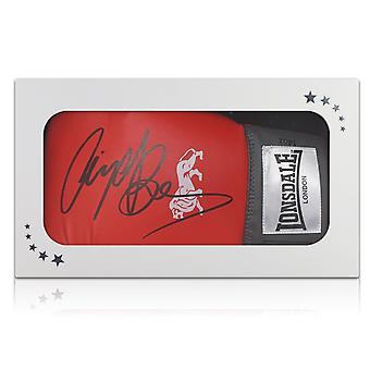 توقيع بن نايجل قفازات الملاكمة في مربع هدية