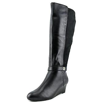 Giani Bernini Womens Catrina Almond Toe Knee High Cold Weather Boots