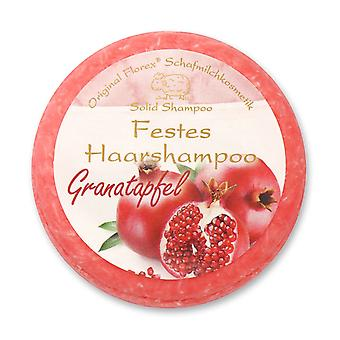 Florex Solid Hair Shampoo Pomegranate with Sheep's Milk Packed in Foil 58 g