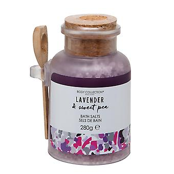 Body Collection Lavender & Sweet Pea Bath Salts