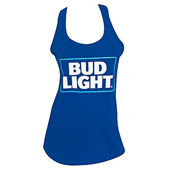 Bud Light Basic Logo Women's Racer Back Tank Top