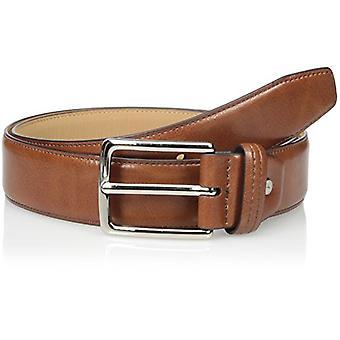 Dockers Men's  Drop-edge Belt,Tan,34, Tan Silver, Size 34