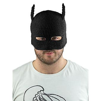 Batman Cowl Knit Beanie (Black)