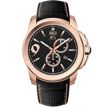 Jivago Men's Gliese Black Dial Watch - JV1510