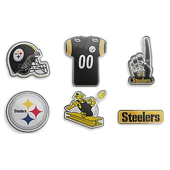 Pittsburgh Steelers NFL Pin Badge Pin Set di 6