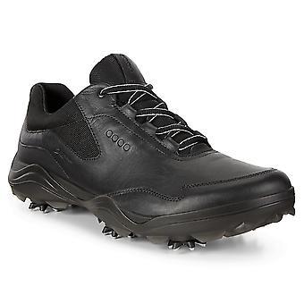 ECCO Mens Strike Racer Gore-Tex hengittävä nahka vedenpitävä Golf kengät