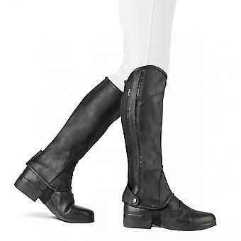 Dublin Adulti Stretch Fit Sparkle Half Chaps - Negru