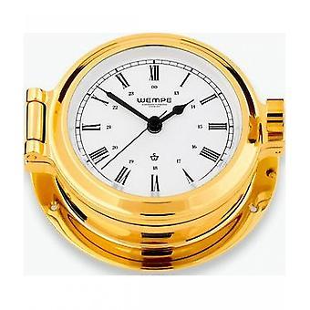 Wempe chronometer works nautical porthole clock CW100001