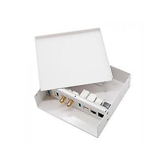 Connection Box for an Interactive Whiteboard NANOCABLE 10.35.0003 White