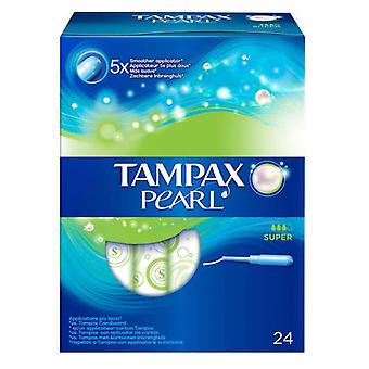 Tampax Pearl Buffer Super 24 Units
