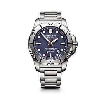 Watch Victorinox 241782 - I.N.O.X. Professional Diver/ silver steel blue dial Men