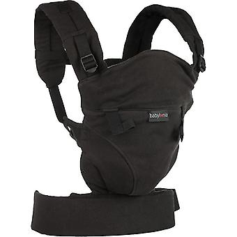 Babylonia Baby Carrier Tricot-Click-One Size-Black