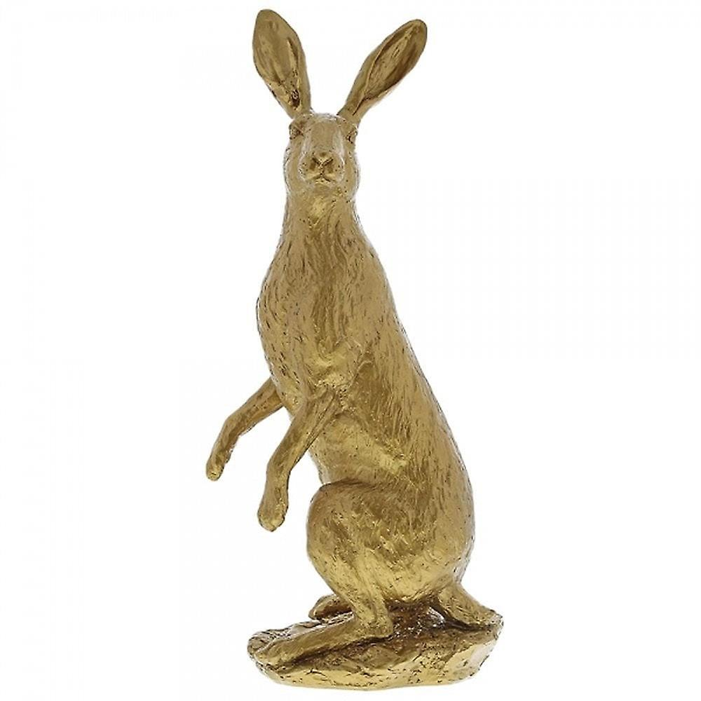 Border Fine Arts Hare Large Gold Figurine