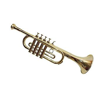 Trumpet 4 tones with movable buttons toy accessory instrument children's trumpet